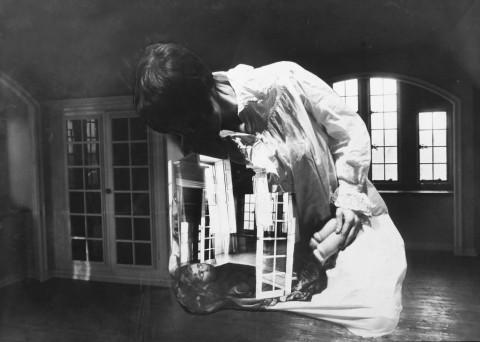 Penelope Penny Slinger – Nursing Home photo, from An Exorcism series – 1970-1977