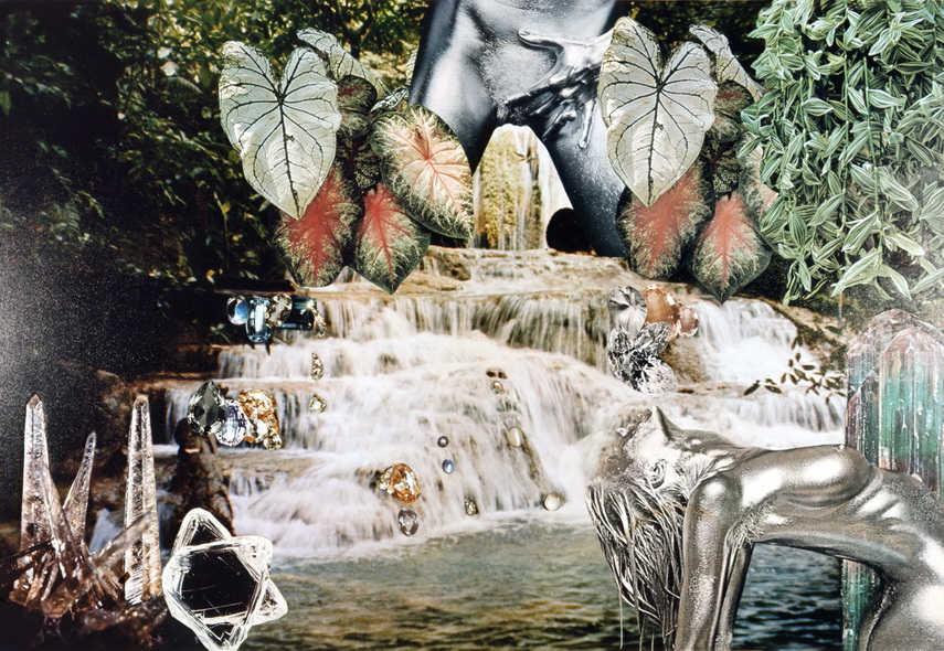 Penny Slinger - Transformation - Crystal Palace, 1976-1977 - image via blumandpoe