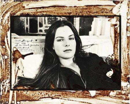 Peter Beard-Carole Bouquet, NYC-1978