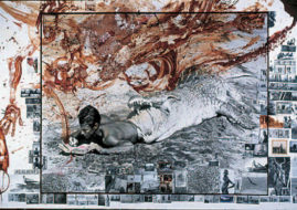 Peter Beard exhibition. Guild Hall Museum