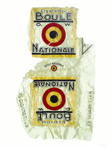 Peter Blake-Fag Packets (Boule)-2005