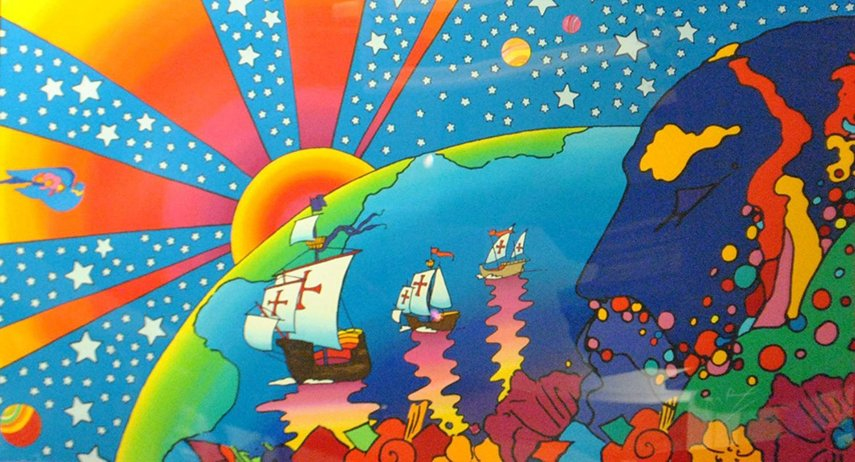 Psychedelic Art paintings , design, view, use, post, painting, graphic page 1960s time, inspired 2015 posters lsd