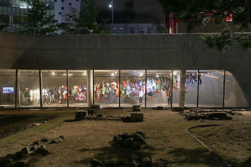 Phil America Design Of graffiti law Memories made in cam center of Seoul museum, South Korea 2016
