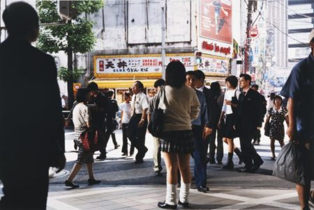 Philip-Lorca diCorcia-Tokyo (Schoolgirl)-1999