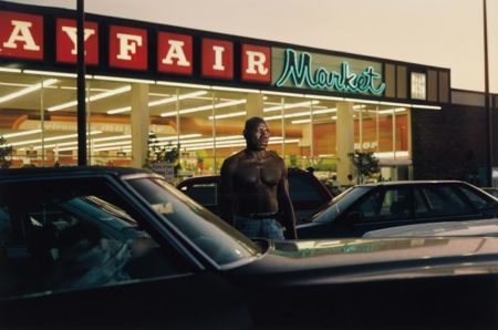 Philip-Lorca diCorcia-Ike Cole, 38 years old, Los Angeles, California, $25 (Mayfair Market)-1992