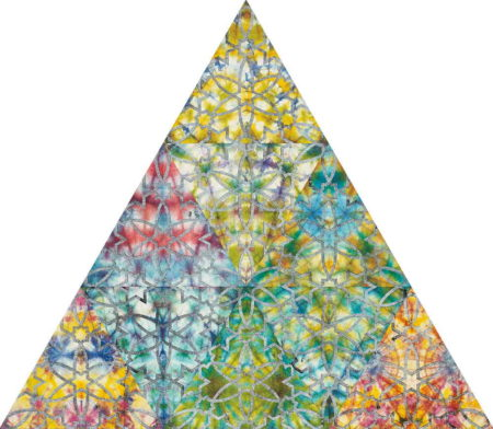 Philip Taaffe-Bardo Triangle-2009
