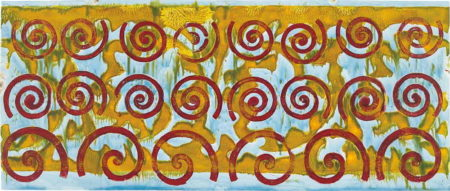 Philip Taaffe-Untitled #5-2000