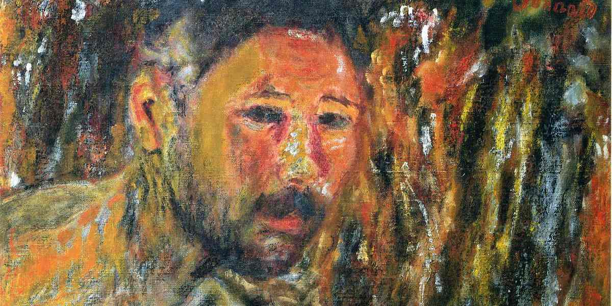 Pierre Bonnard - Self-Portrait with a Beard, 1925 - Pirvate Collection