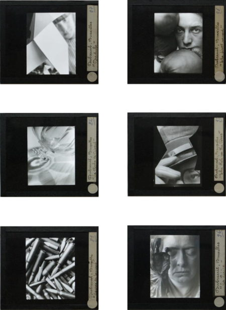 Pierre Dubreuil-A complete set of the artist's known diapositives-1930