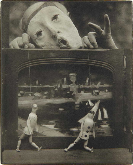 Pierre Dubreuil-The Play of Life (Self-portrait)-1930