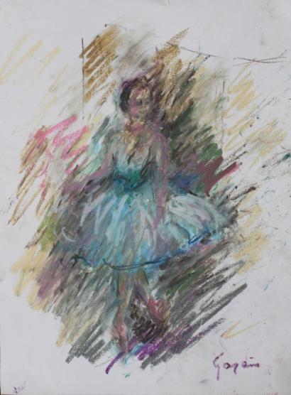 Pierre Gogois-Danseuse-