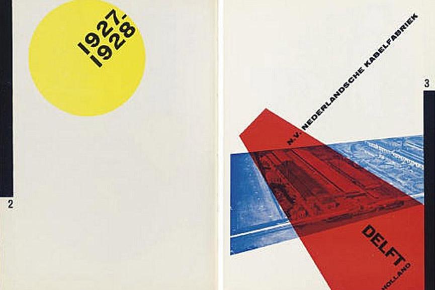 Bauhaus typography geometric new use typefaces