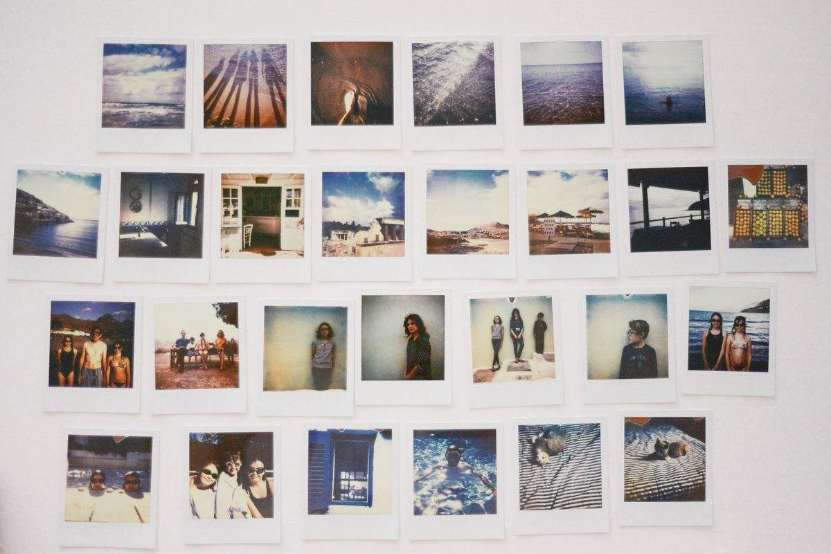 Genesis Of A Polaroid Photo Widewalls