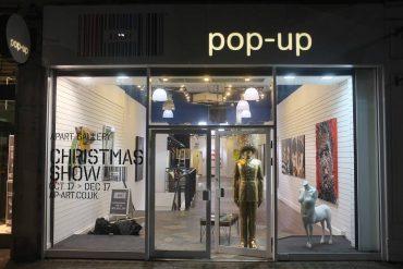 Pop-Up Art Gallery in London - Image via canalblogcom