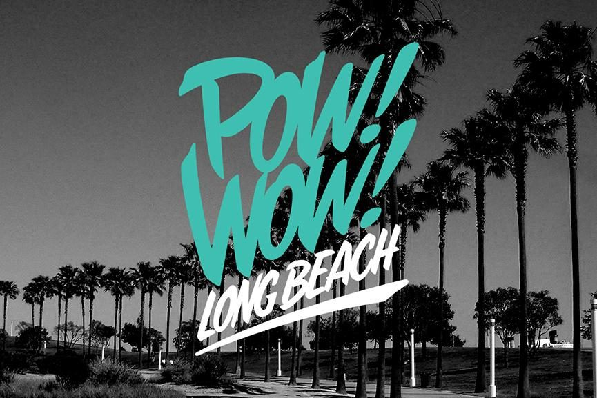POW WOW street art festival long beach