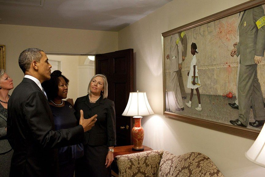 Barack Obama white house art collection