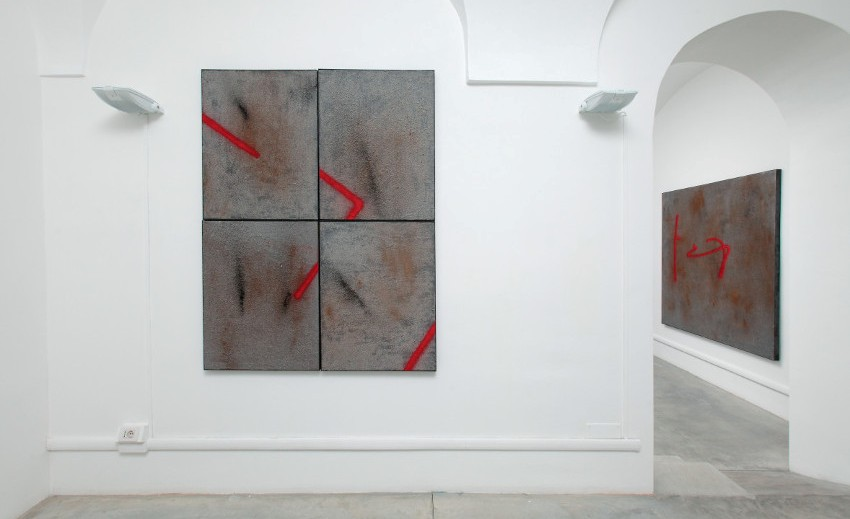 Pryce Lee - What LIES Beneath, 2015 - installation view at Neochrome Gallery