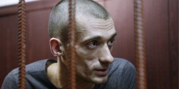 Pyotr Pavlensky - Photo of the artist - Photo Credits The Guardian