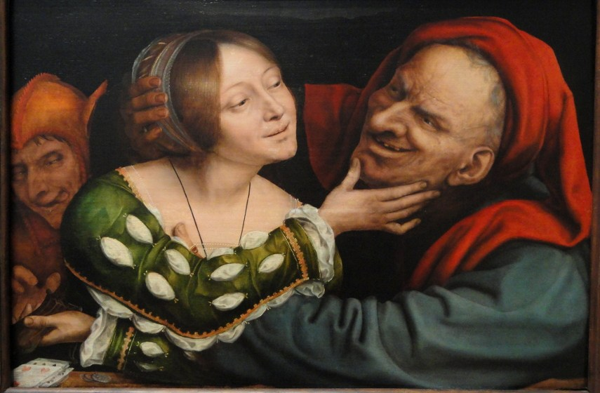 old works massys massys page page link link metsys quinten national new Quentin Matsys - Ill Matched Lovers, 1525