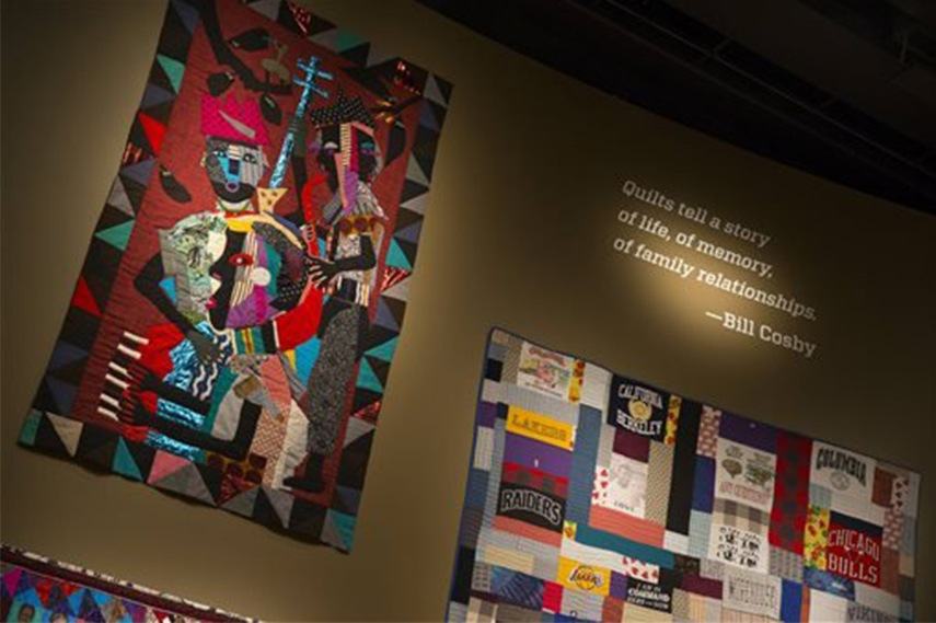Quilts from the Bill and Camille Cosby collection