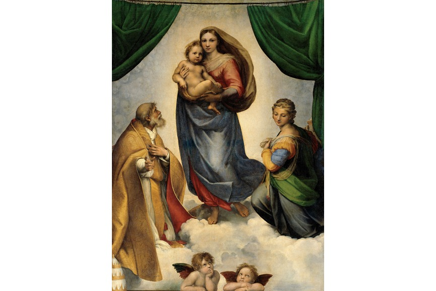 RAFAEL - Madonna Sixtina1513-14