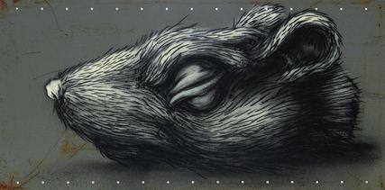 ROA-Untitled (Rat Head)-2010