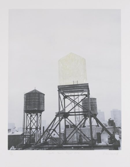 Rachel Whiteread-Water Tower Project-1998