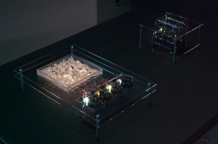 Ralf Baecker - Irrational Computing, 2011 - Crystal Field Oscillator, computer art