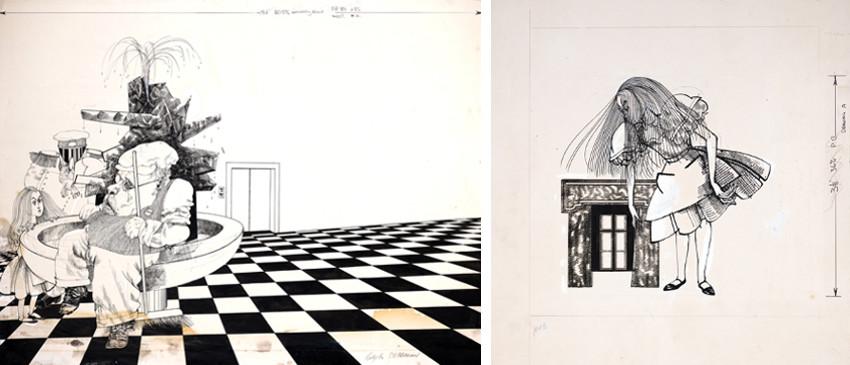 Ralph Steadman - Illustrations for Alice in Wonderland