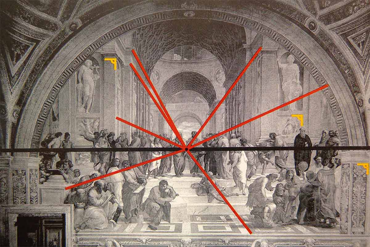Linear Perspective Art Paintings