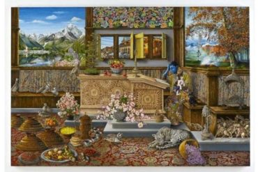 New Raqib Shaw Art Pieces Coming at White Cube This Summer