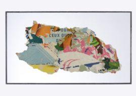 Raymond Hains - Pour ceux qui, 1962. Courtesy Galerie W