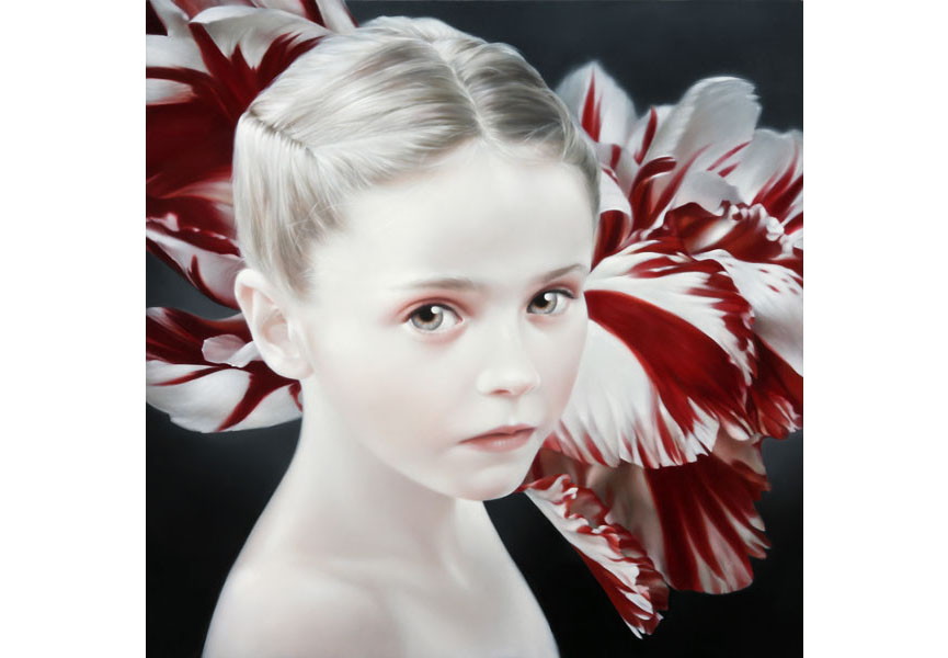 David Michael Smith - Red and White