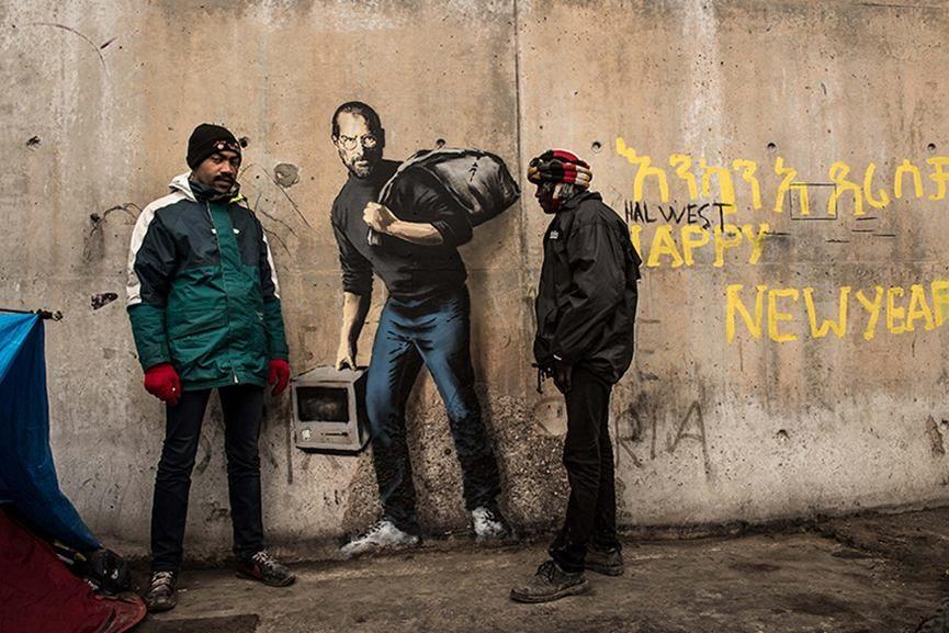 Banksy Calais