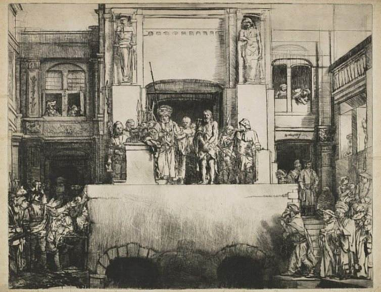 Rembrandt - Christ Presented to the People ('Ecce Homo')