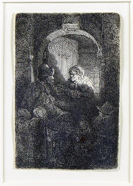 Rembrandt van Rijn-Rembrandt Van Rijn - The Schoolmaster-1641