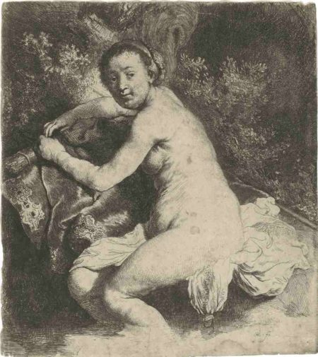 Rembrandt van Rijn-Diana At The Bath-1631