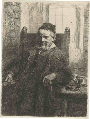Rembrandt van Rijn-Jan Lutma, Goldsmith-1656
