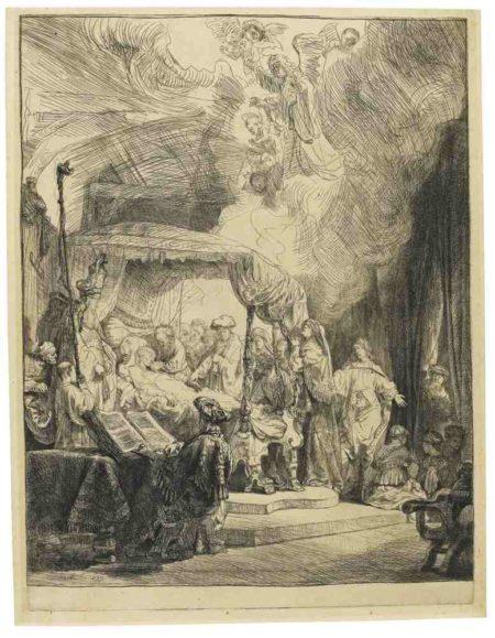 Rembrandt van Rijn-The Death Of The Virgin-1639