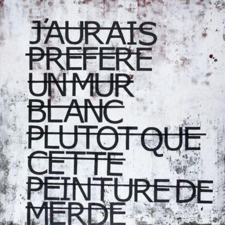 Rero-J'Aurais Préféré Un Mur Blanc Plutot Que Cette Peinture De Merde)-2011