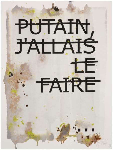 Rero-Putain, J'Allais Le Faire-2012