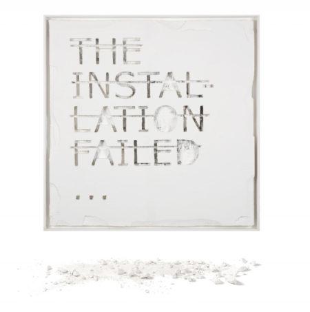 Rero-Sans Titre (The Installation Failed...)-2012