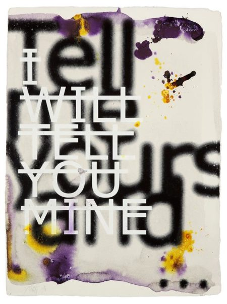 Rero-Untitled (I Will Tell You Mine...)-2014