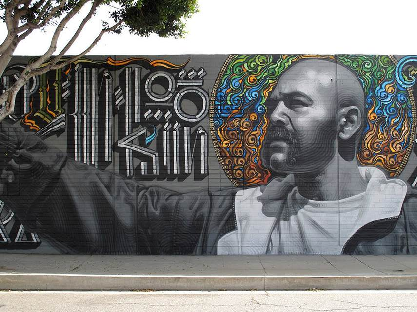 Retna - Culver City Mural, 2012