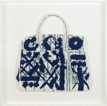 Retna-Homemade Birkin Bag (Helter - Serra- Retna collaboration)-2012