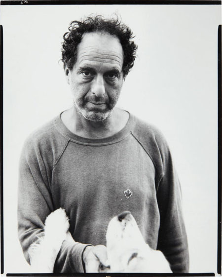 Richard Avedon-Robert Frank, photographer, Mabou Mines, Nova Scotia, July 17-1975