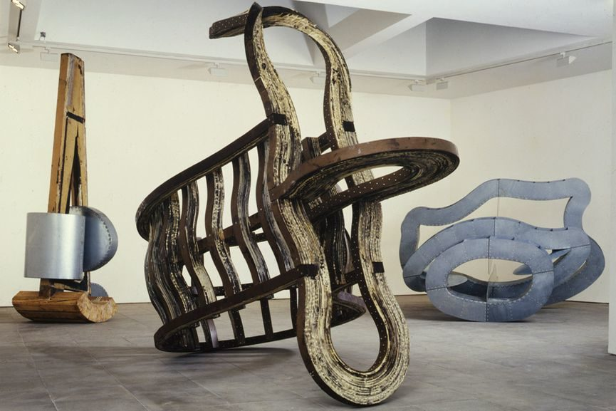 Richard Deacon, Installation View at Lisson Gallery, via lissongallery com