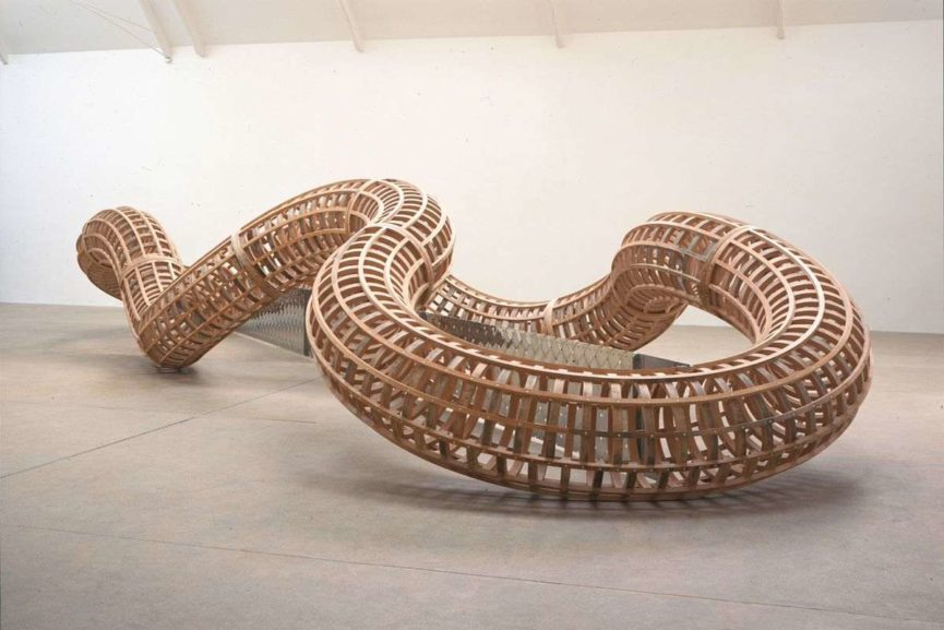 Richard Deacon Sculpture, via thetalks com