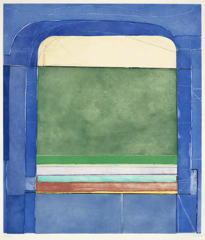 Richard Diebenkorn-Blue Surround-1982