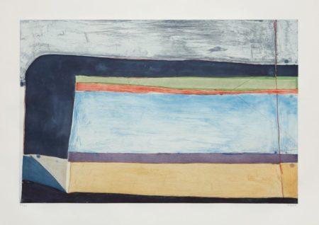 Richard Diebenkorn-Indigo Horizontal-1985